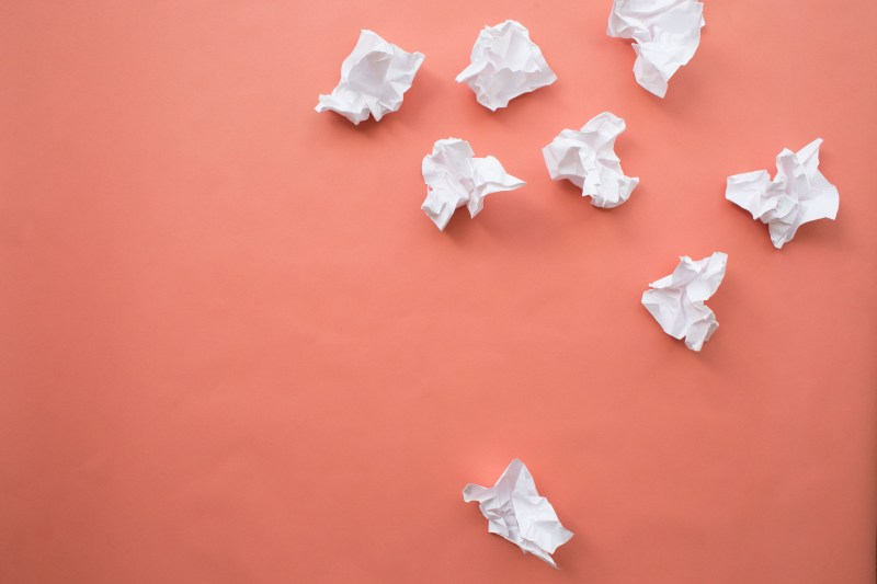 Crumpled Paper   death to stock photos