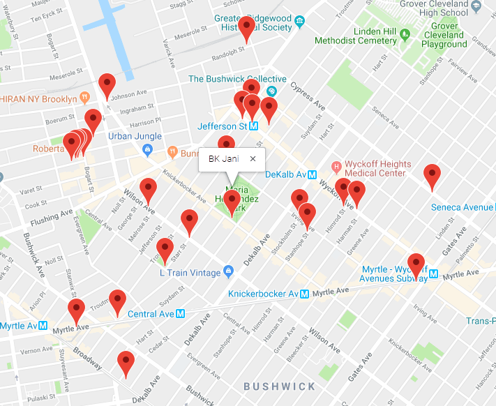 React App - Neighborhood Map