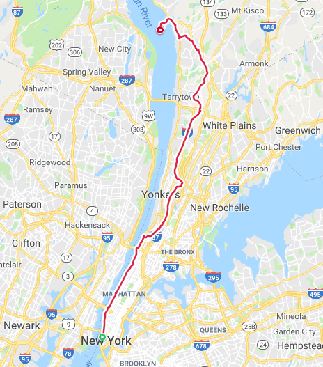 ride route