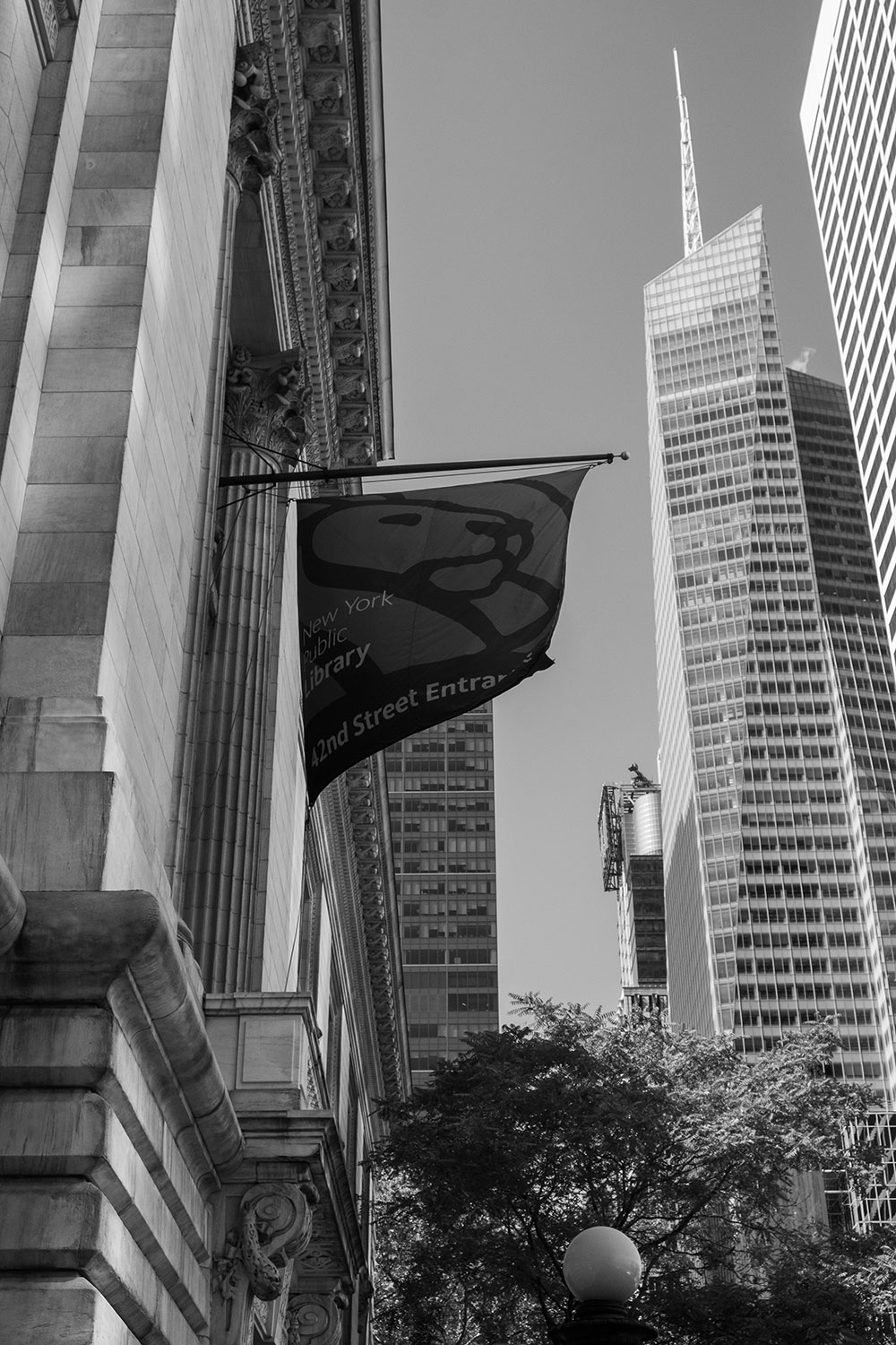 New York Public Library flag