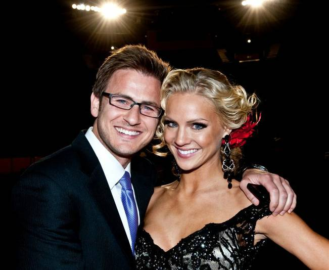 (Update: Not anymore!) Reid Rosenthal of 'The Bachelorette' is still dating Miss USA Kristen Dalton. Sad face. (3/3)