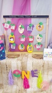 first birthday party ideas baby photos