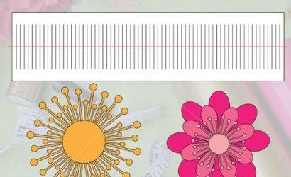 Free SVG Cut File | Paper Flower Centers