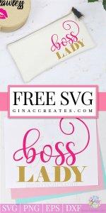 boss lady free svg