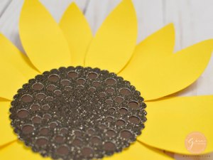paper sunflower svg