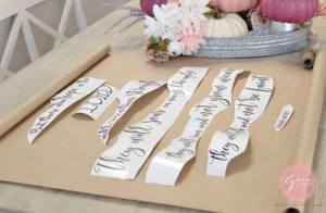 giant paper scroll home decor