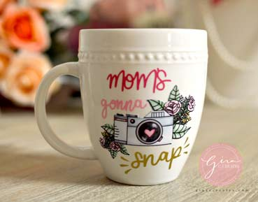 photograph regarding How to Use Printable Vinyl known as How towards employ the service of Printable Water-resistant Vinyl upon a mug Gina C. Results in