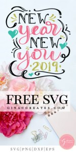 new year svg, inspiring svg quote, cricut files