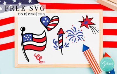 Patriotic Elements Free Svg Cut File Gina C Creates