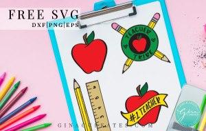 teacher tribe svg, back to school svg, apple svg