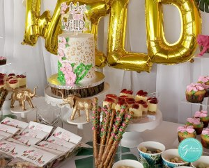 two wild dessert table, wild one birthday party idea