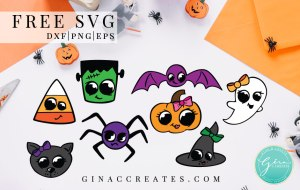 pumpkin, bat, ghost, witch, frankenstein, free svg craft files