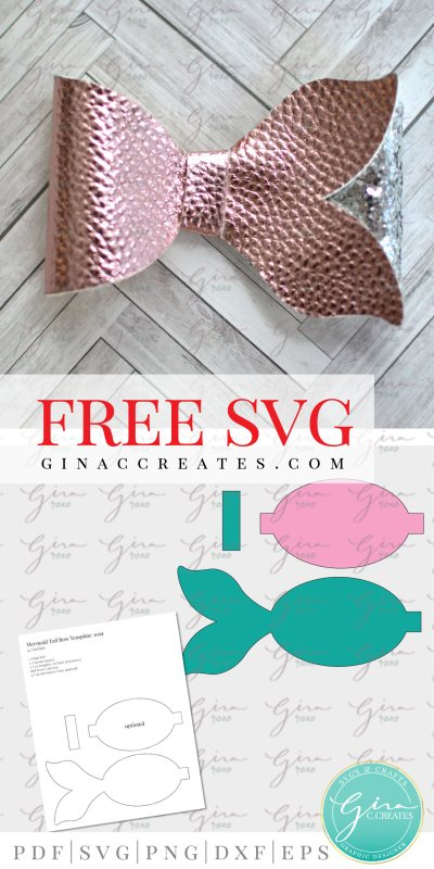 Bow Template Svg : template, Mermaid, Template, Creates