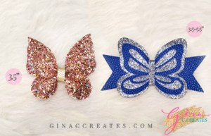 butterfly hair bow free svg template gina c creates