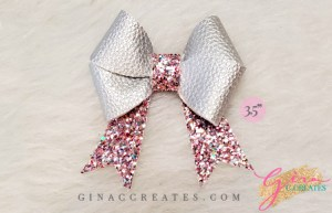 double bow svg cut file DIY