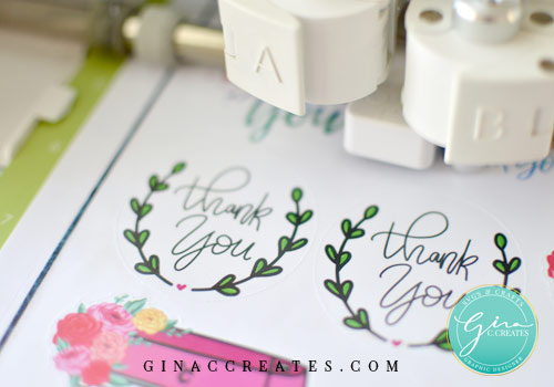 free thank you sticker printable for packages print and cut