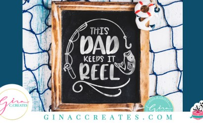 This Dad Keeps It Reel Father's Day Free SVG