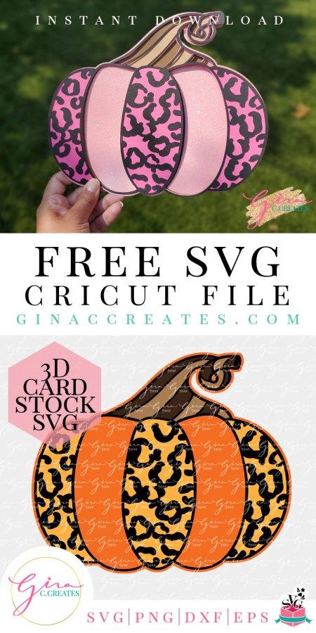 free 3d pumpkin mandala leopard