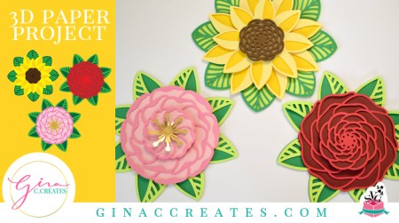 free 3d mandala flowers svg tutorial