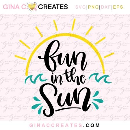 fun in the sun summer free svg