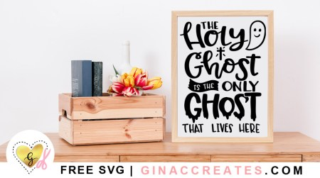 Holy Ghost Free Halloween SVG