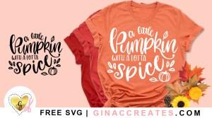 free pumpkin spice svg shirt idea
