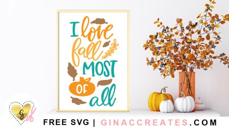I love fall most of all free svg