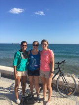 My friends and I enjoyed a bike tour in beautiful Málaga.