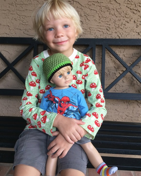Mom Makes American Boy Doll For Son S Birthday Today S