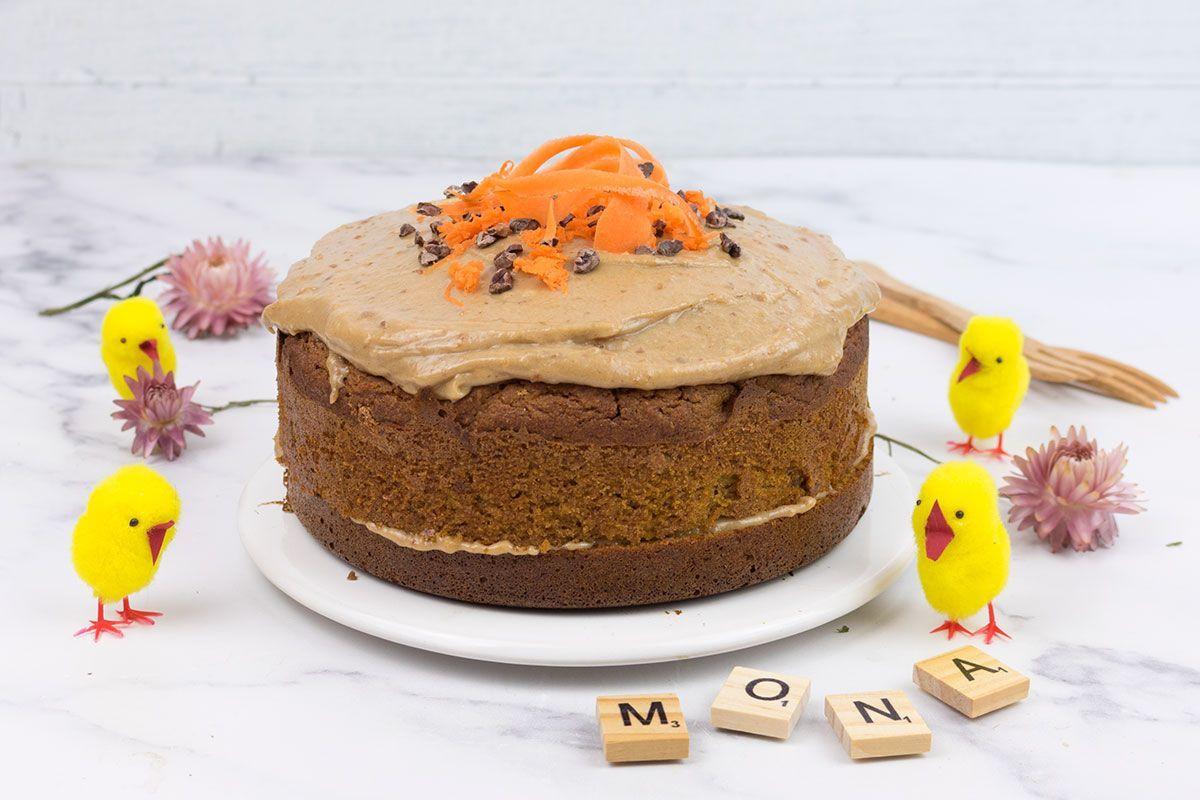 Pastel-de-zanahoria-y-caramelo-de-platano