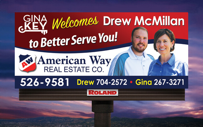 Gina Welcomes Drew McMillan to the Team!
