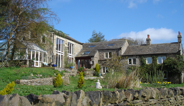The Healthy Home in the beautiful Yorkshire Dales. The inspiration for Gina's books and venue for Retreats