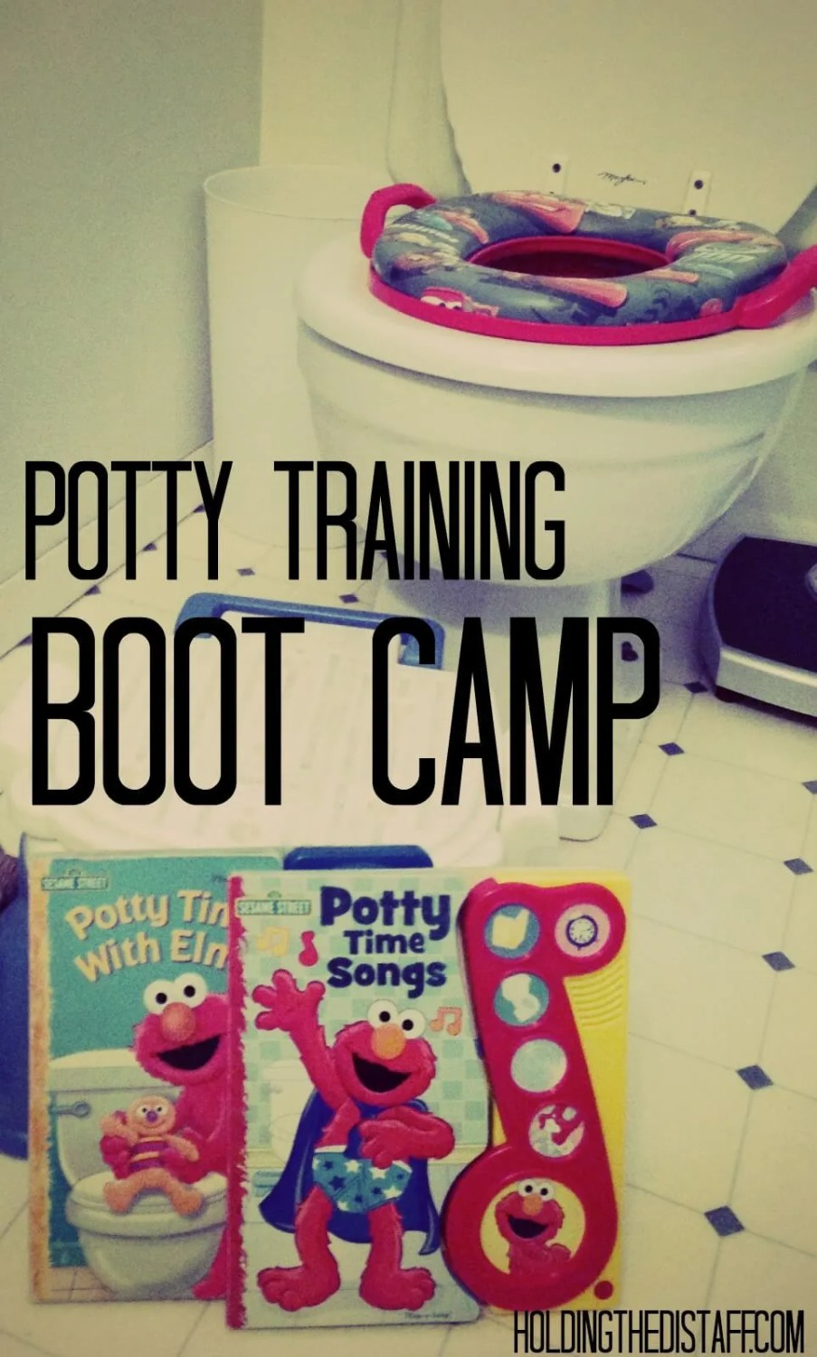 Potty Training Boot Camp: How to kickstart potty training with a toddler. Most of the hard work is completed in just in ONE DAY.