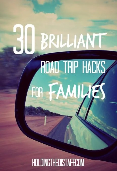 30 Brilliant Road Trip Hacks for Families: if you're planning to travel with kids in tow, you don't want to miss these tips! Save it and refer to these trips each time you plan a trip!