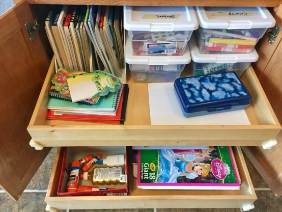 Craft Supplies Home Organizing Ideas
