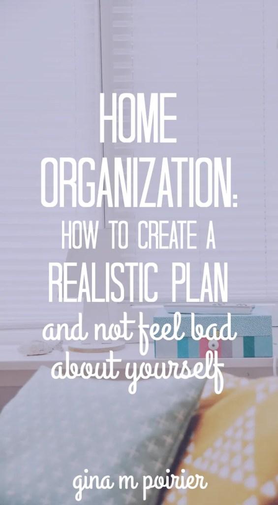 Home Organization | Decluttering Plan