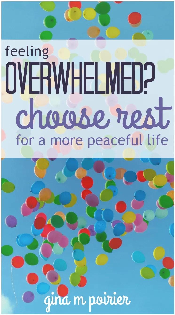 feeling overwhelmed | encouragement | stress management