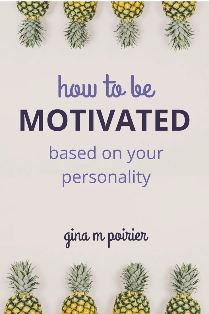 How To Be Motivated | The Four Tendencies | Personality Types