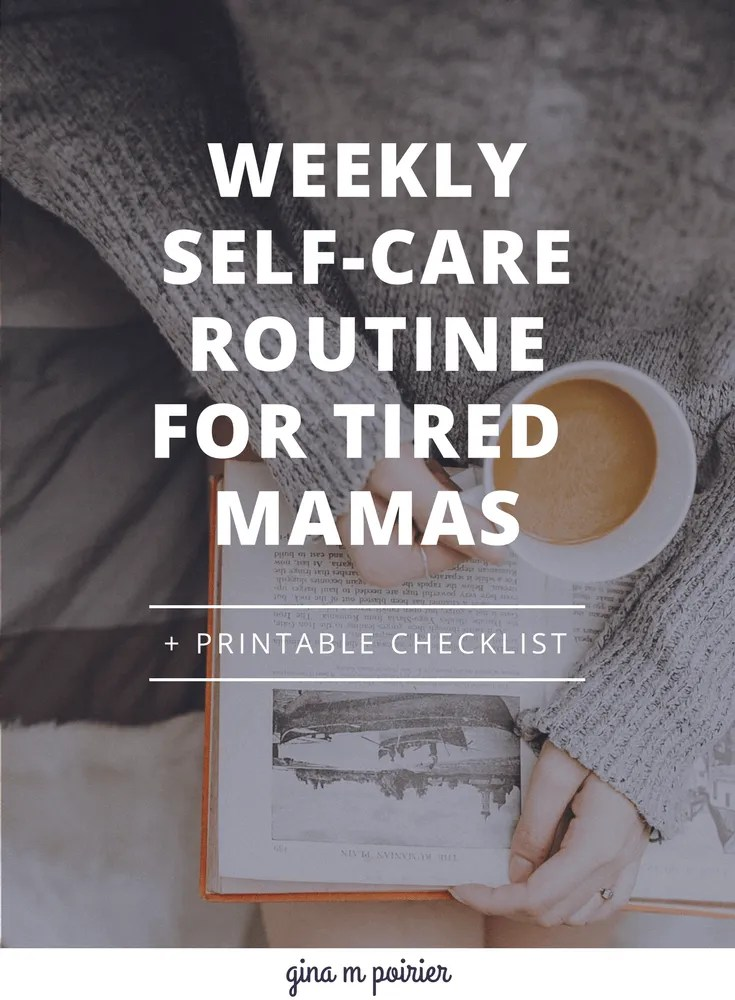 Weekly Self-Care Routine | Printable Self-Care Checklist | Sabbath Rest