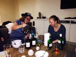 Tuning the gin bottles