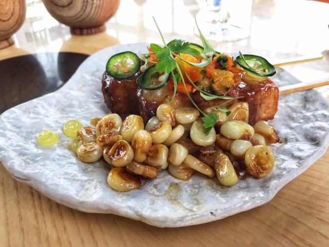 Pork Belly Robata at Sushi Samba