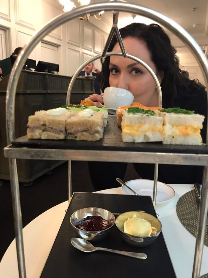 Harrods Afternoon Tea and Me