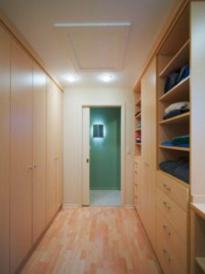 small walk in closet design plans