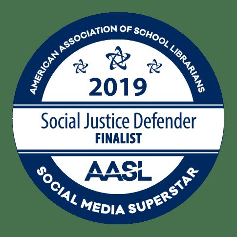 aasl social justice defender badge