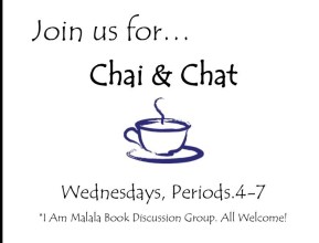 chai and chat sign