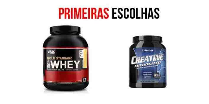 proteína y creatina