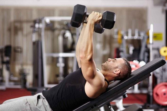résultats dans la salle de gym