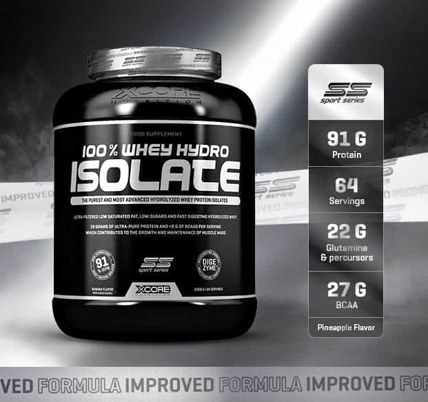 xcore nutrition whey hydro isolate ss