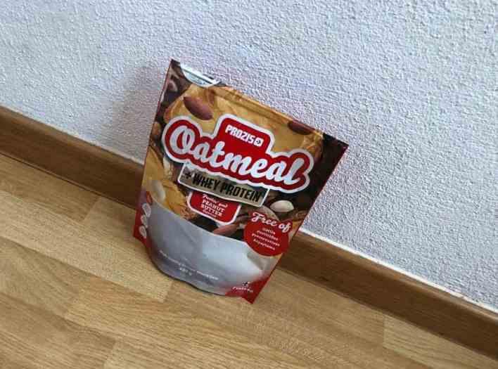prozis oats whey protein