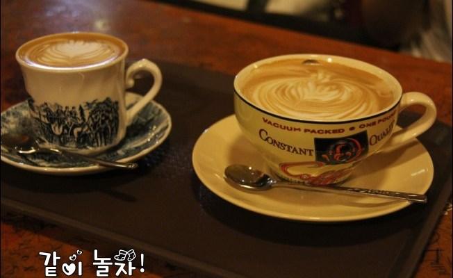 韓國江陵》江東離海最近正東津(정동진)車站看日出爆肝之旅之紅薯夫婦鄭容和徐賢(我們結婚了)造訪過的咖啡廳